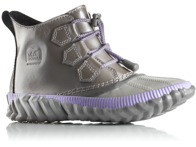 Sorel Youth Out N About Plus Shoes Quarry/Chrome Grey